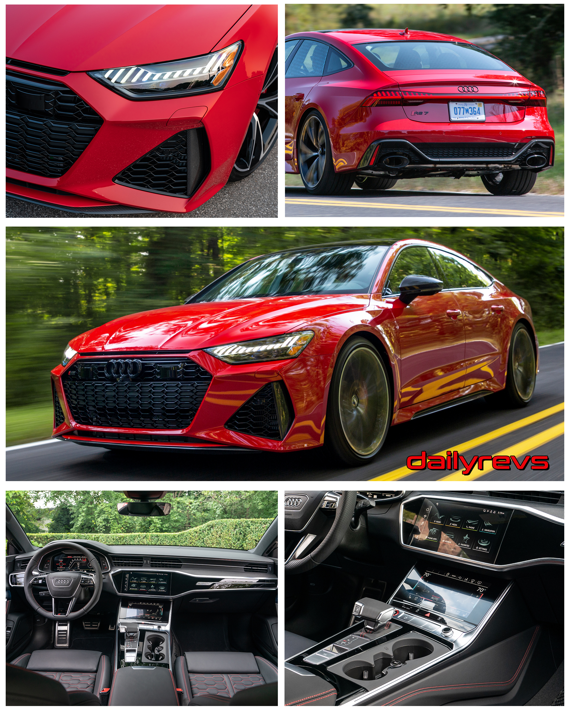 2021 Audi Rs7 Sportback Us Version Dailyrevs