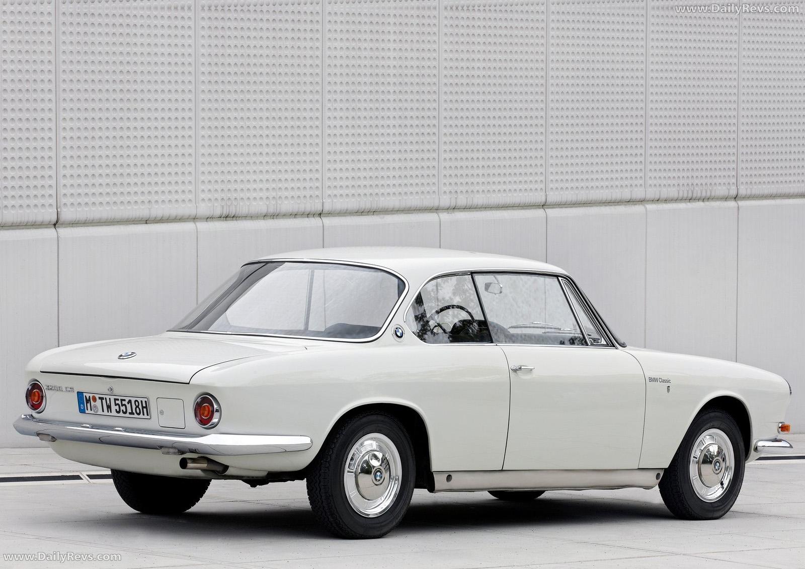 1962 BMW 3200 Coupe CS - Dailyrevs