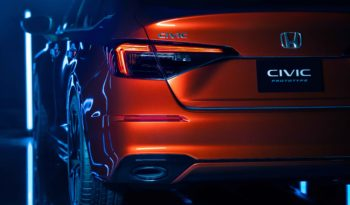 2022 Honda Civic Prototype full