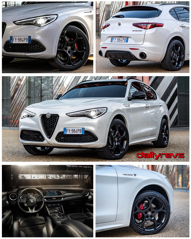 2021 Alfa Romeo Stelvio Veloce Ti Dailyrevs