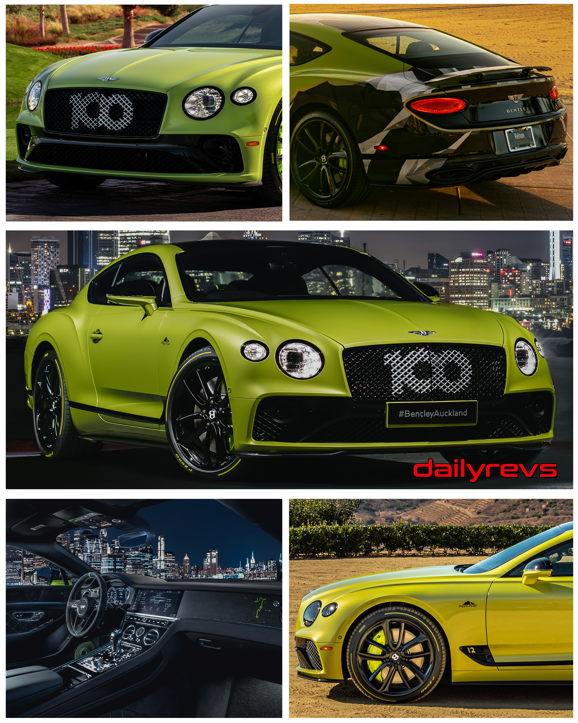 2021 Bentley Continental GT Pikes Peak Limited Edition
