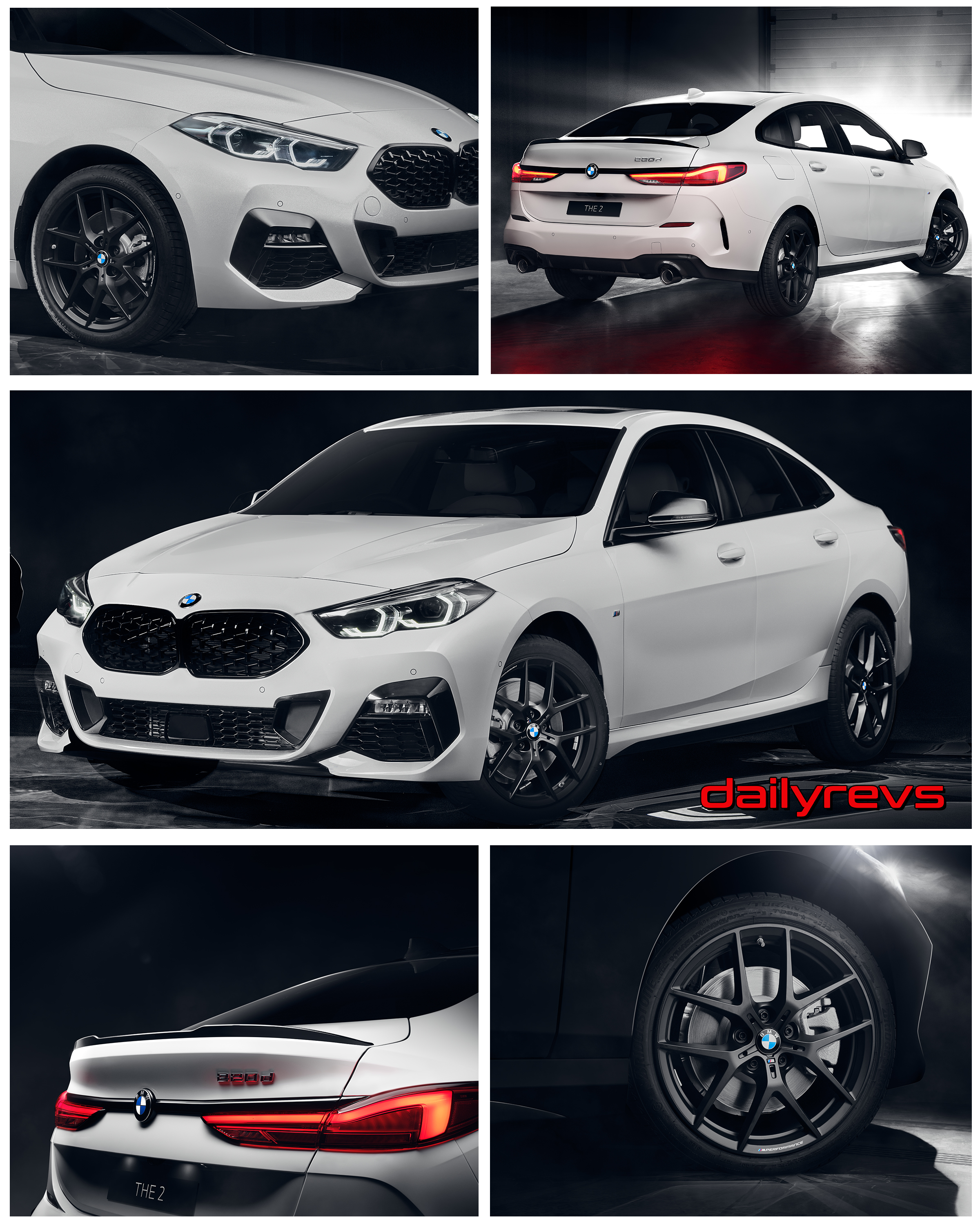 2020 Bmw 2 Series Gran Coupe Black Shadow Dailyrevs