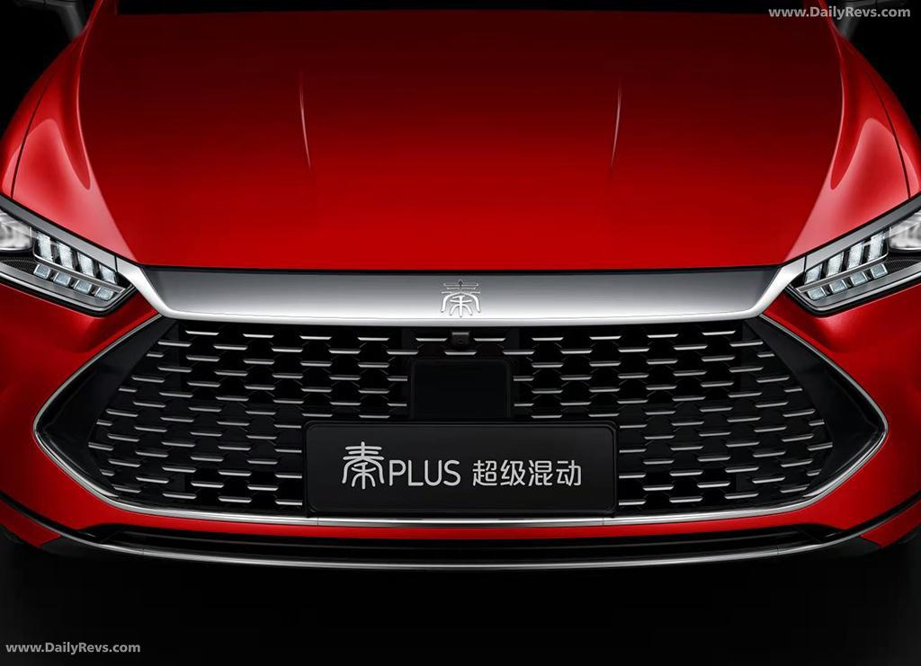 2021 BYD Qin Plus full