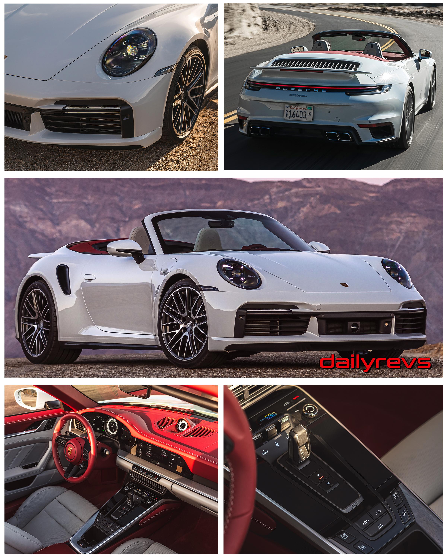 2021 Porsche 911 Turbo Cabriolet - Carrera White Metallic