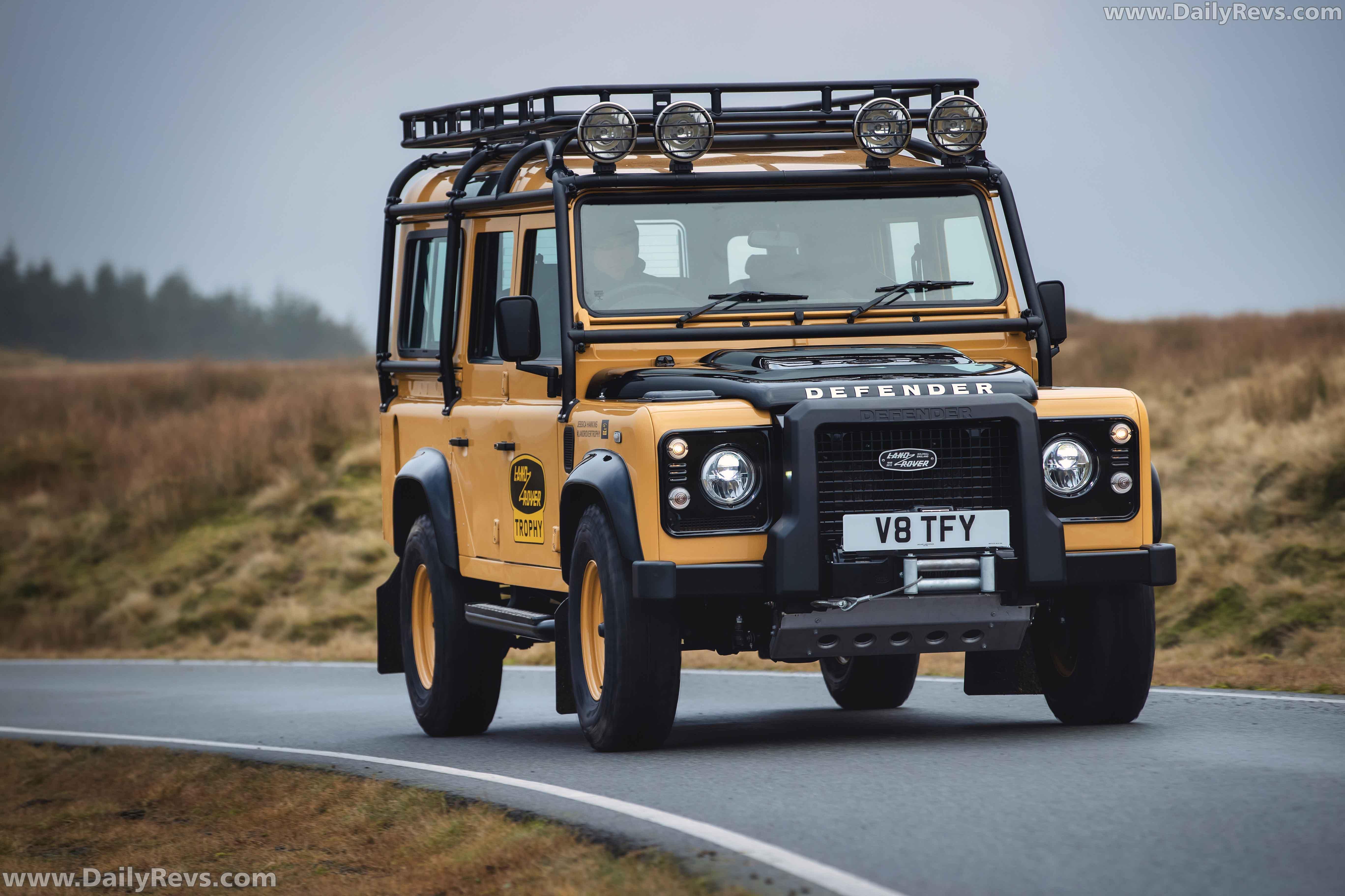 2021 Land Rover Defender Works V8 Trophy - Dailyrevs