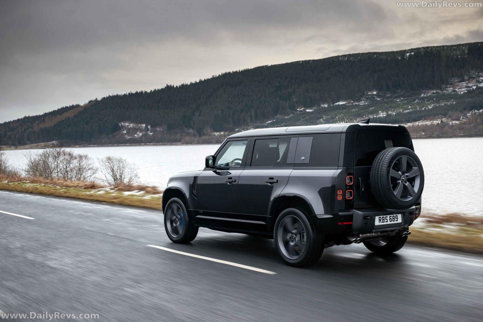 2022 Land Rover Defender V8 110 - Dailyrevs