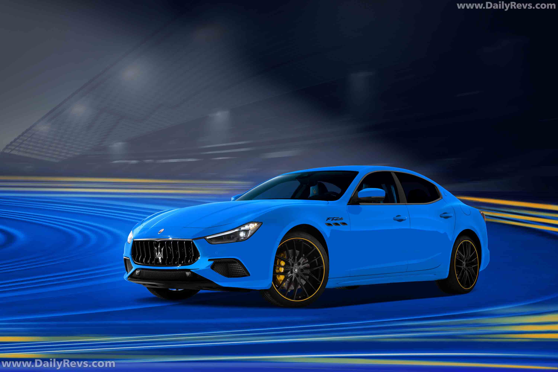 2021 Maserati Ghibli F Tributo full