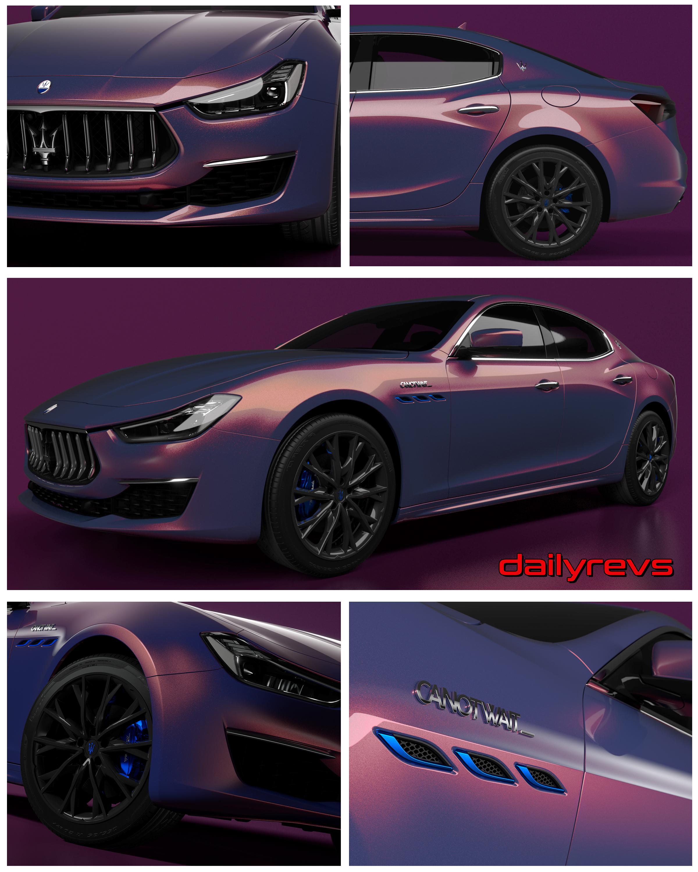 2021 Maserati Ghibli Hybrid Love Audacious