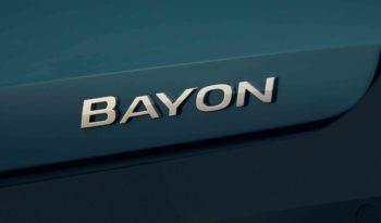 2022 Hyundai Bayon – European Version full