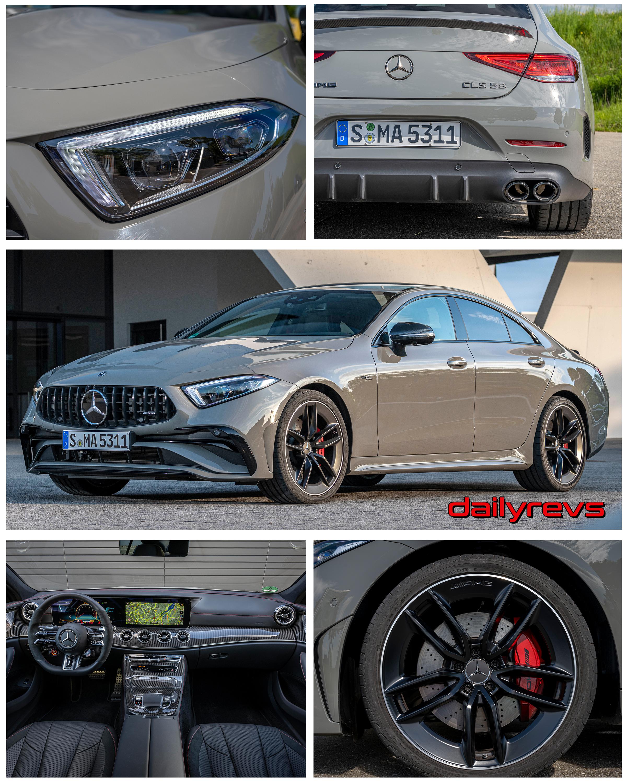 2022 Mercedes-Benz CLS53 AMG - Classic Grey