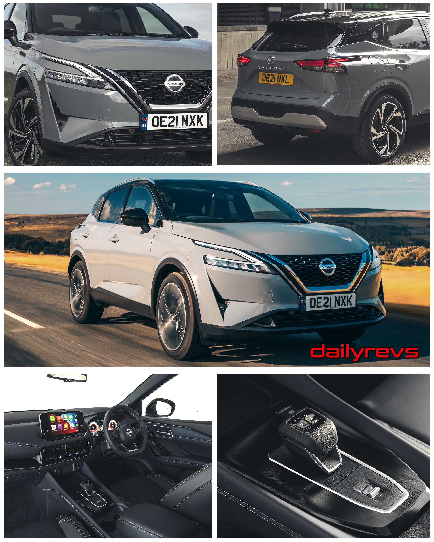 2022 Nissan Qashqai UK - Ceramic Grey
