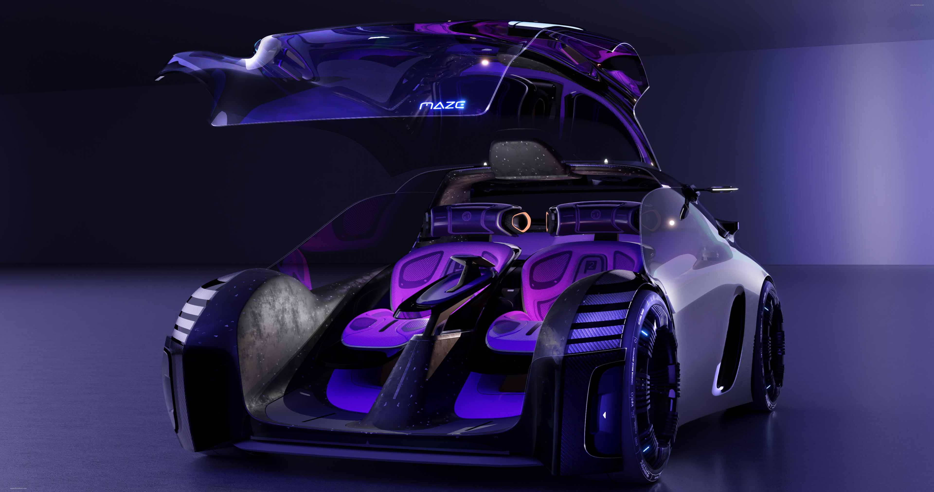 2021 MG MAZE Concept full