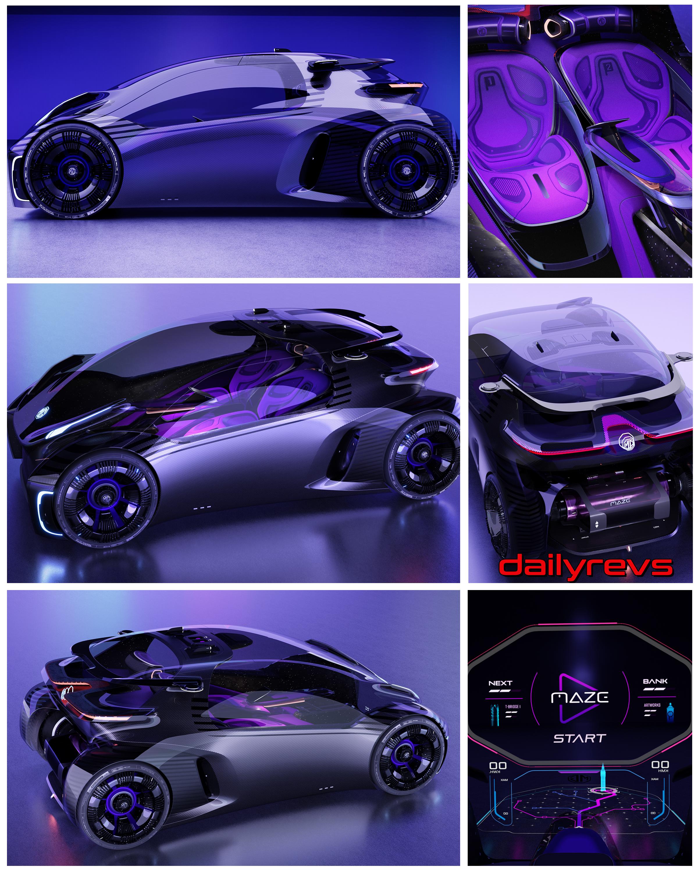 2021 MG MAZE Concept
