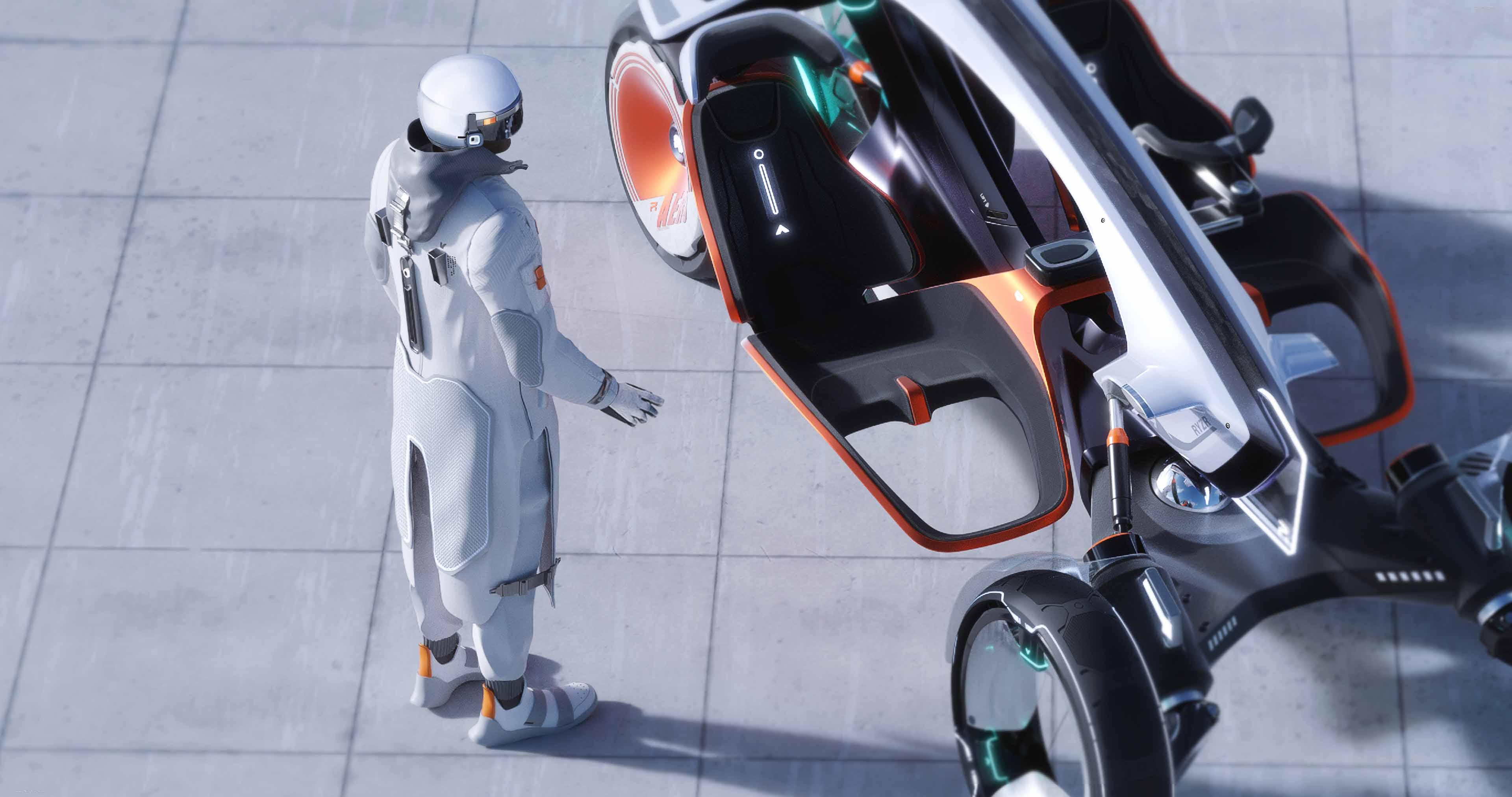 2021 Roewe – R RYZR Concept full